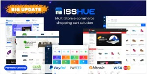 Read more about the article Isshue 4.0 Nulled – Multi Store eCommerce Shopping Cart Solution