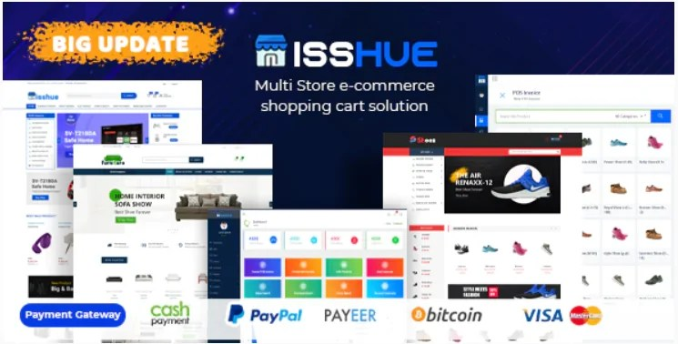 You are currently viewing Isshue 4.0 Nulled – Multi Store eCommerce Shopping Cart Solution