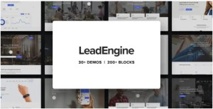 Read more about the article LeadEngine 3.1 Nulled – Multi-Purpose WordPress Theme with Page Builder