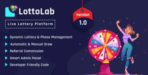 Read more about the article LottoLab 1.0 NULLED – Live Lottery Platform