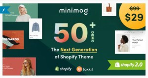 Read more about the article Minimog 1.0.0 – The Next Generation Shopify Theme