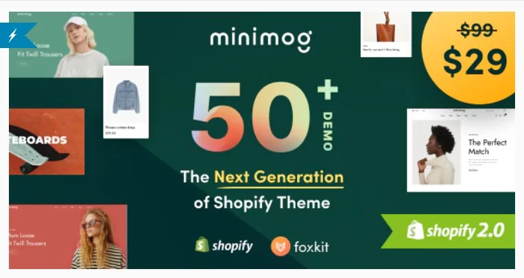 Read more about the article Minimog 2.1.2 – The Next Generation Shopify Theme