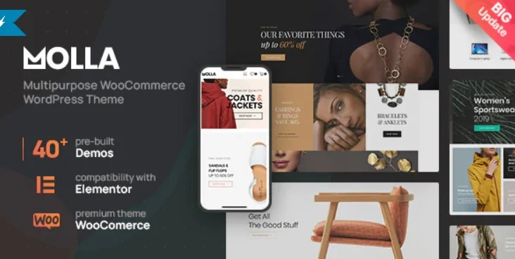 You are currently viewing Molla 1.3.1 – Multi-Purpose WooCommerce Theme