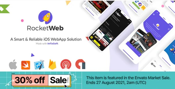 Read more about the article RocketWeb iOS 1.0.6 – Configurable iOS WebView App Template