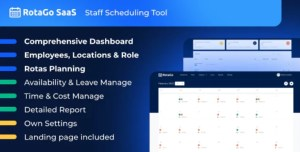 Read more about the article RotaGo SaaS 5.1.0 NULLED – Staff Scheduling Tool