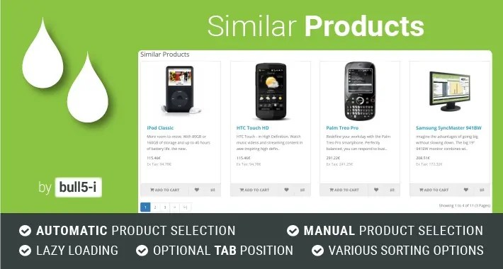 Read more about the article Similar Products 4.1.14 – OpenCart Module
