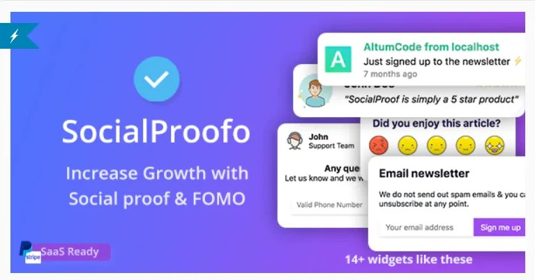 You are currently viewing SocialProofo 7.1.0 Nulled – 14+ Social Proof & FOMO Notifications for Growth