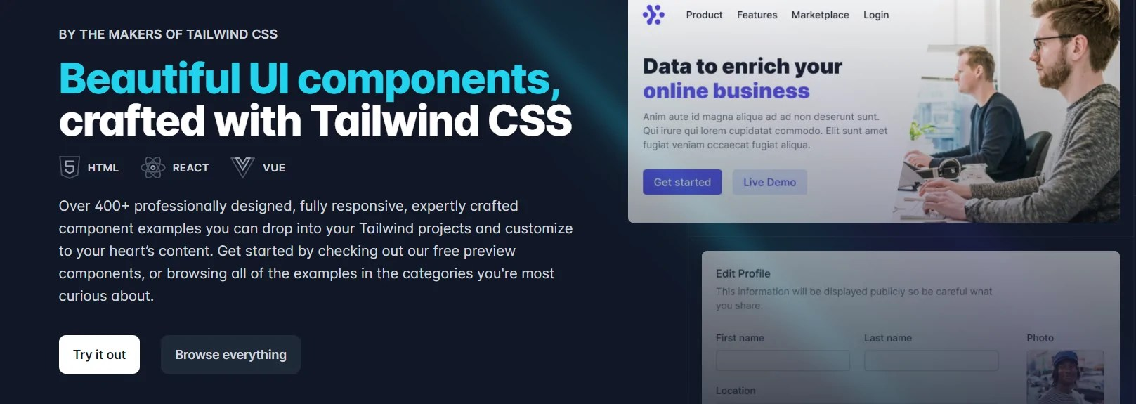You are currently viewing Tailwind 2.0 – Create Beautiful UI Components