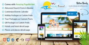 Read more about the article Trendy Travel 5.3 – Travel WordPress Theme