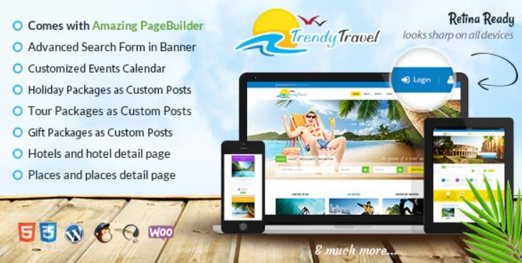 You are currently viewing Trendy Travel 5.3 – Travel WordPress Theme