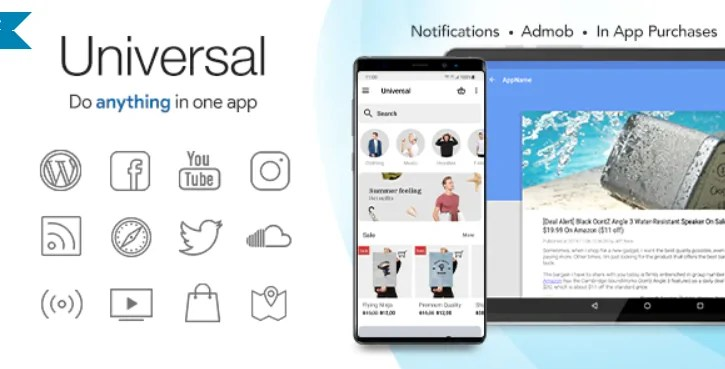 You are currently viewing Universal 4.5 – Full Multi-Purpose Android App
