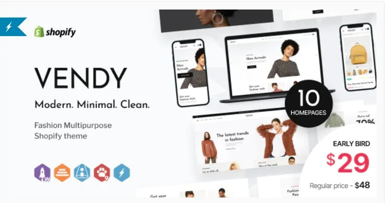 Read more about the article Vendy 1.0.0 – Multipurpose Shopify Theme for Fashion