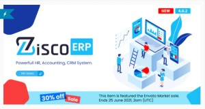 Read more about the article ZiscoERP 4.0.2 – Powerful HR, Accounting, CRM System