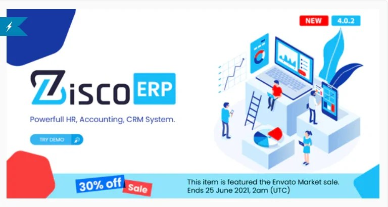 You are currently viewing ZiscoERP 4.0.2 – Powerful HR, Accounting, CRM System
