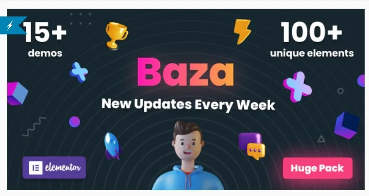 You are currently viewing Baza 1.19 – Creative MultiPurpose WordPress Theme