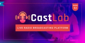 Read more about the article CastLab 1.1 NULLED – Live Radio Broadcasting Platform