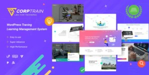 Read more about the article CorpTrain 3.3.0 NULLED – Corporate Training WordPress Theme