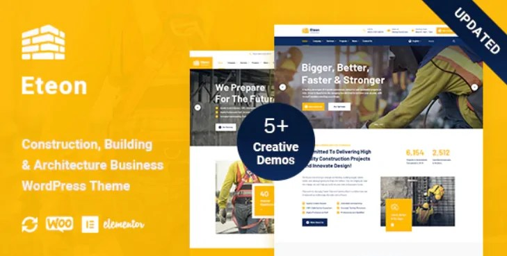 You are currently viewing Eteon 1.0.6 – Construction And Building WordPress Theme
