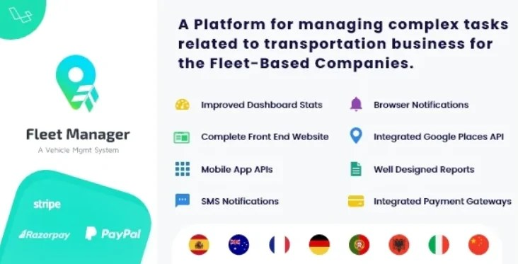 You are currently viewing Fleet Manager 6.0.0 NULLED – Vehicle Management & Booking System