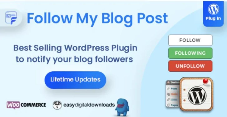 You are currently viewing Follow My Blog Post 2.1.0 – WooCommerce Plugin