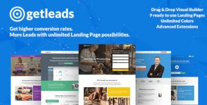Read more about the article Getleads 2.2 – High-Performance Landing Page WordPress Theme