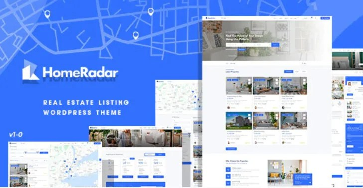 You are currently viewing HomeRadar 1.0.4 – Real Estate WordPress Theme