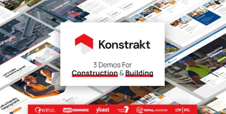 You are currently viewing Konstrakt 1.0.6 – WordPress Theme for Construction