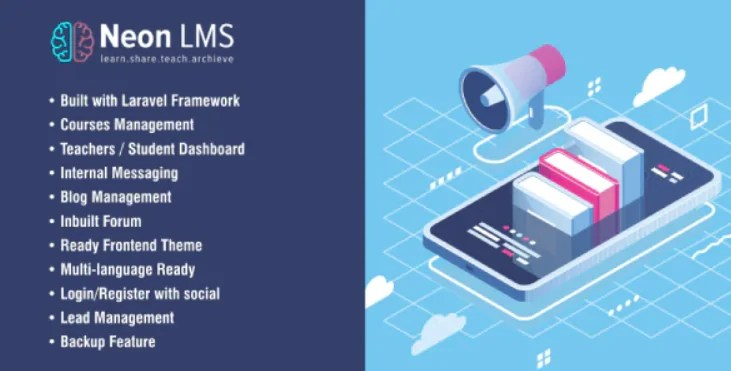 You are currently viewing NeonLMS 5.4.2 – Learning Management System PHP Laravel Script