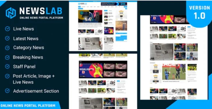You are currently viewing NewsLab 1.0 NULLED – Online Newspaper And Magazine Platform
