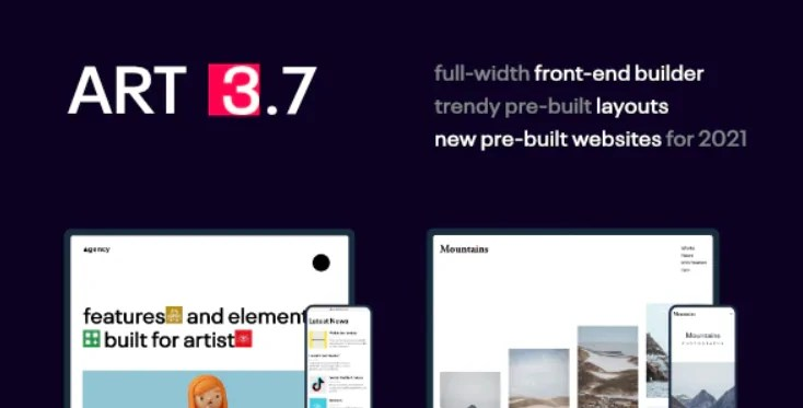 You are currently viewing Portfolio ART 3.7 – WordPress Theme