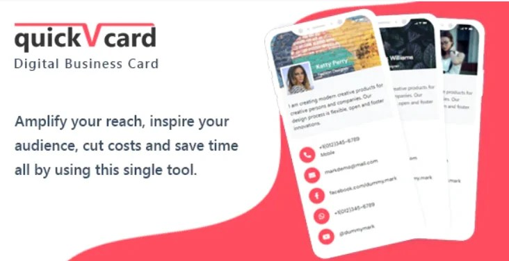 You are currently viewing QuickVCard 1.4 NULLED – Digital Business Card SaaS PHP Script