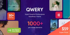 Read more about the article Qwery 1.1.4 NULLED – Multi-Purpose Business WordPress Theme
