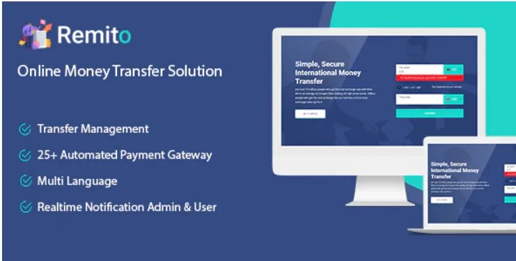 Read more about the article Remito 1.0 – Online Money Transfer Solution