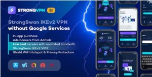 Read more about the article StrongVPN 1.1.0 – StrongSwan IKEv2 VPN stable & free VPN proxy for iOS