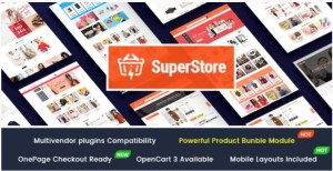 Read more about the article SuperStore 1.0.2 – Responsive Multipurpose OpenCart 3 Theme