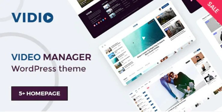 You are currently viewing Vidio 1.1.8 – Video Manager WordPress theme
