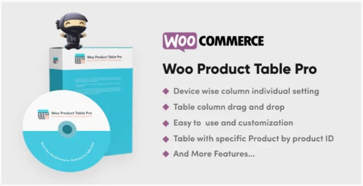 You are currently viewing Woo Product Table Pro 8.0.0 Nulled – WooCommerce Product Table view solution