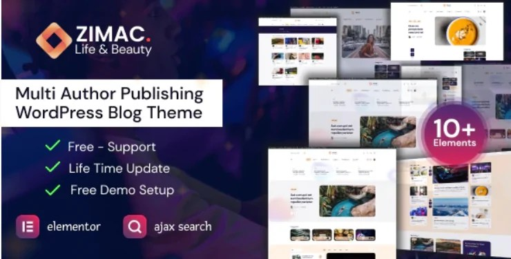 You are currently viewing Zimac 1.0 – Multi Author Publishing WordPress Theme