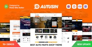 Read more about the article Autusin 2.2.1 NULLED – Auto Parts Shop Elementor WooCommerce