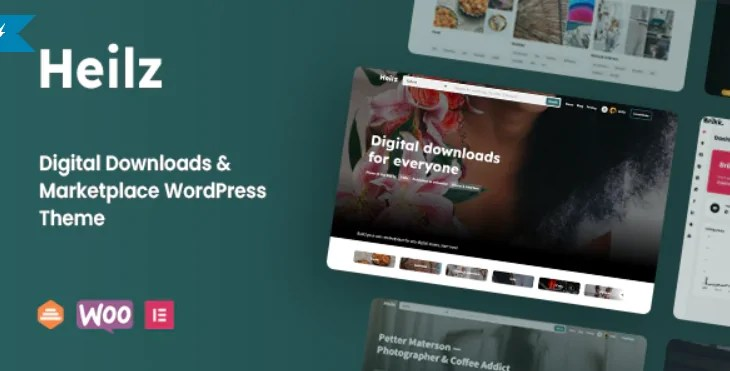 You are currently viewing Heilz 1.0.0.3 – Digital Downloads & Marketplace WordPress Theme