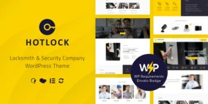 Read more about the article HotLock 1.3.4 – Security Systems WordPress Theme