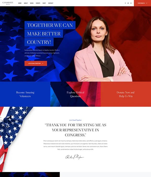 You are currently viewing JA Candidate 2.0.1 – Professional Joomla Political Template