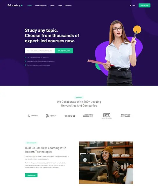 You are currently viewing JA Educatsy 2.0.0 – Joomla Education Template