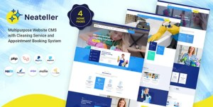 Read more about the article Neateller 1.3 NULLED – Multipurpose Website CMS