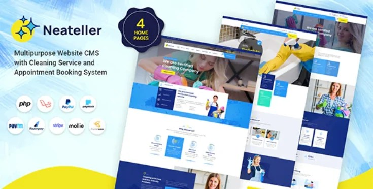 You are currently viewing Neateller 1.3 NULLED – Multipurpose Website CMS