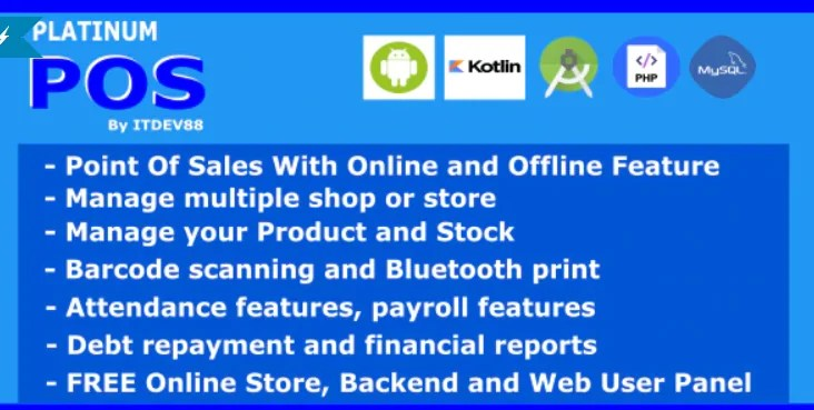 You are currently viewing Platinum Point Of Sales (POS) 1.0.1 – Android and Online Store