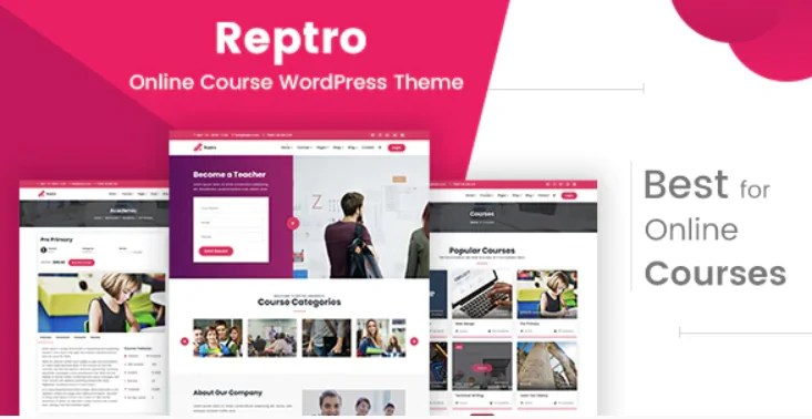 You are currently viewing Reptro 2.1 – Online Course WordPress Theme