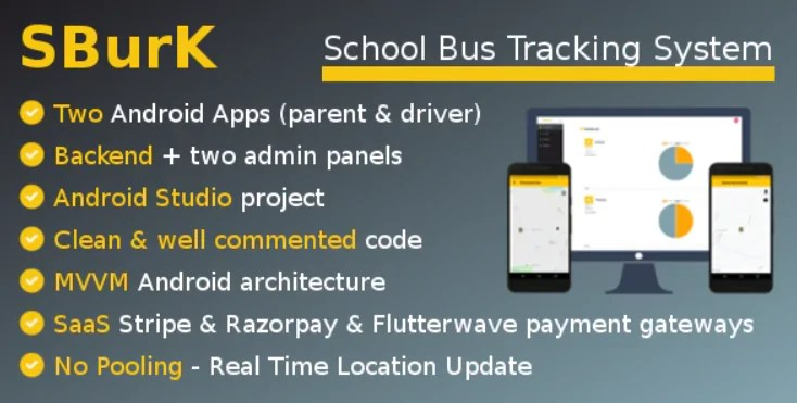 You are currently viewing SBurK 2.4 – School Bus Tracker – Two Android Apps