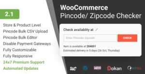 Read more about the article WooCommerce Pincode and Zipcode Checker 2.1.0