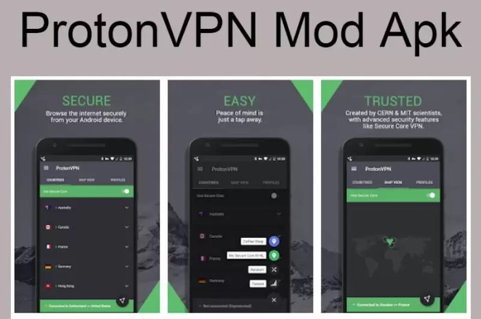 ProtonVPN Mod APK Latest Version Free Download